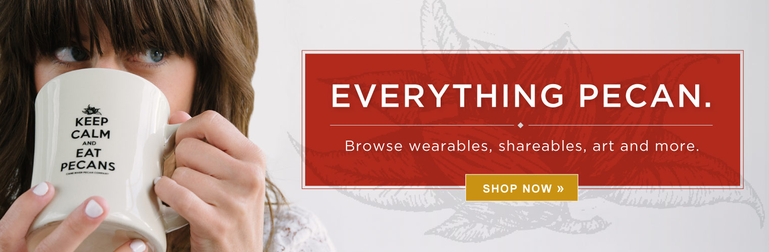 Everything Pecan. Browse wearables, shareables, art and more.