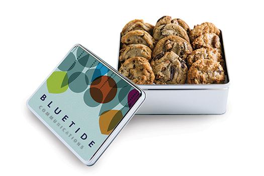 Custom Cookie Gift Tin