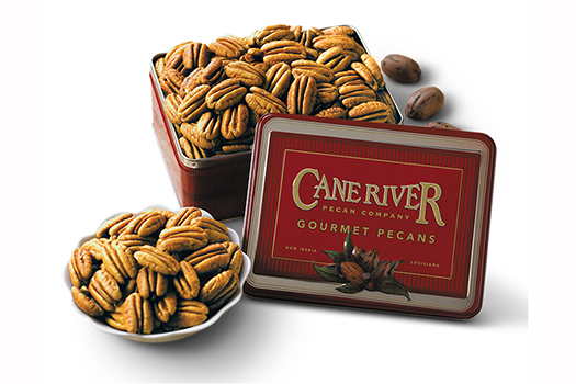 16 oz. and 28 oz. Mammoth Natural Pecans Gift Tin
