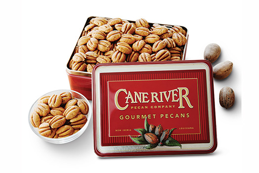 Elliot Pecan Gift Tins by Cane River Pecan Company