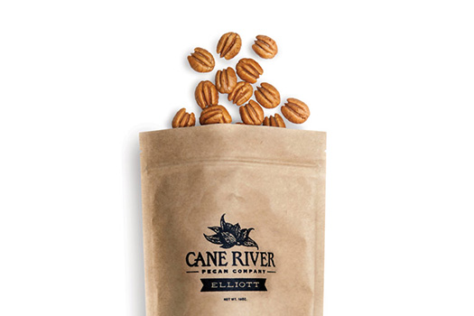 One Pound Bag of Elliot Pecans by Cane River