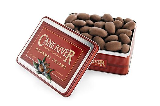 Corporate and Executive Milk Chocolate Pecan Tins